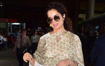 Kangana Ranaut Returns To Mumbai Post A 10-Day Spiritual Trip