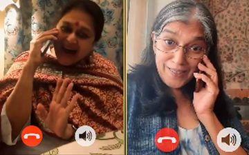 Khichdi's Hansa Calls Sarabhai VS Sarabhai's Maya To Announce Re-Telecast Of Both Shows In This EPIC Crossover Video-WATCH