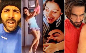 POLL: Ranveer Singh, Kartik Aaryan, Anushka Sharma Or Katrina Kaif- Fans Decide Whose Social Media Game Is ON FLEEK Amid Lockdown