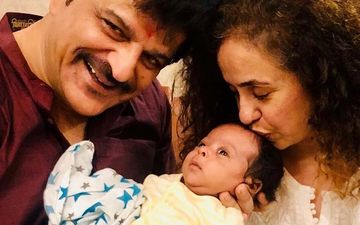 Ishaan Khatter's Father Rajesh Khattar And Wife Vandana Share FIRST Glimpse Of Their Son Vanraj On 12th Wedding Anniversary