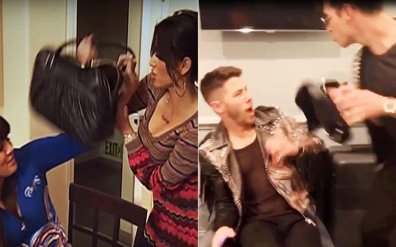 Nick And Joe Jonas Impersonate Kim And Khloe Kardashian's 'Don't Be F*cking Rude' Fight; It's Hella' Fun - VIDEO