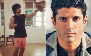 Toofan: Farhan Akhtar Channels His Inner Rocky Balboa In This BTS Video As He Practices With The Speedball