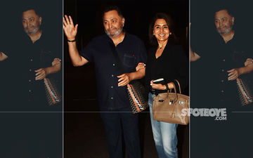 After 11 Months, 11 Days, It's Touchdown In Mumbai For Rishi Kapoor And Neetu Kapoor; Bollywood Extends A Warm Welcome