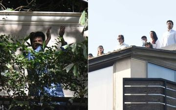 Janta Curfew: Amitabh Bachchan, Jaya, Aishwarya Rai Bachchan, Abhishek Express Gratitude By Clapping On Their Rooftop-VIDEO