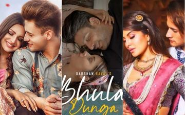 Sidharth Shukla-Shehnaaz Gill's Bhula Dunga RULES Supreme; SidNaaz Reign Over Asim Riaz-Himanshi Khurana's Kalla Sohna Nai And Mere Angne Mein