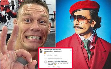 Ranveer Singh Comments On John Cena's Ric Flair Post, Fans Say 'You Got Your Inspiration For New Dress'