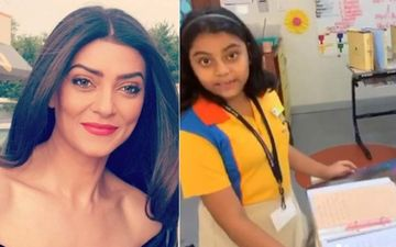 Sushmita Sen Moved To Tears As Her Daughter Alisah Recites An Essay On Adoption; Netizens Laud The Actress For Raising Her Kids Right