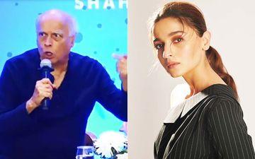 Mahesh Bhatt's Impassioned Speech At Shaheen's Book Launch Leaves Alia Bhatt Uncomfortable- VIDEO