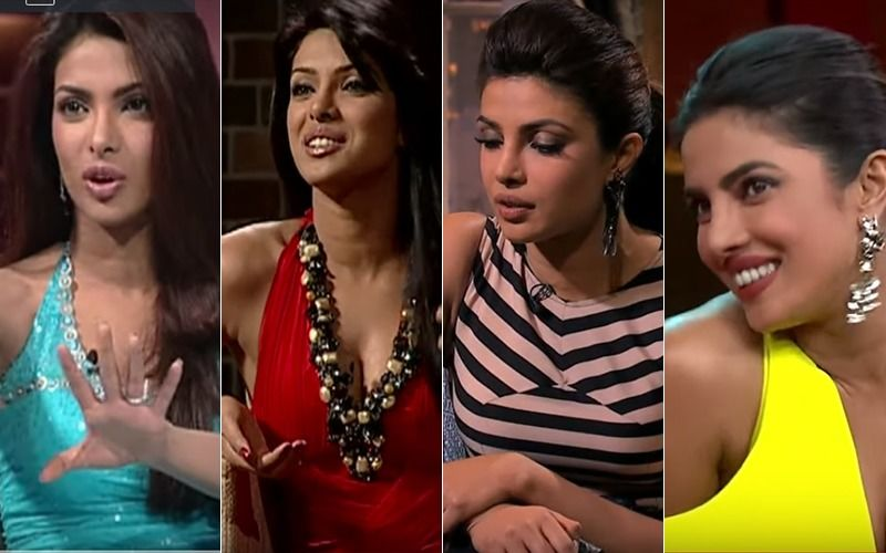 Check Out Priyanka Chopra's Amazing Transformation Through The Years In Koffee With Karan Time Machine