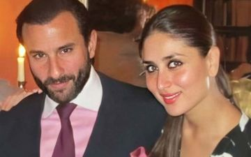 Kareena Kapoor Khan Gorges On Yummy Chocolate Cake Made By Karisma Kapoor; Why So Grumpy Saif Ali Khan? - PICS INSIDE