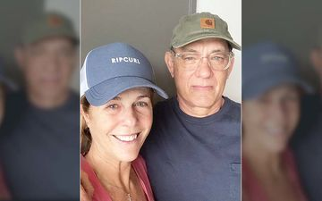 Tom Hanks Shares First Picture With Rita Wilson After Testing Positive For Coronavirus, 'We're Taking It One-Day-At-A-Time'