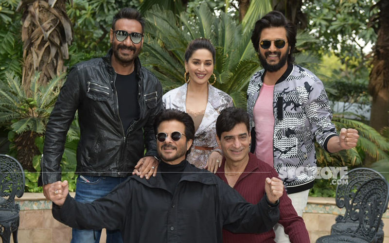 Total Dhamaal Cast Ajay Devgn, Anil Kapoor, Madhuri Dixit, Riteish Deshmukh Have A Total Blast