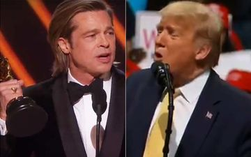 Donald Trump Mocks Brad Pitt After His Political Oscars Speech, Says He Was Never A Fan Of The Actor-VIDEO