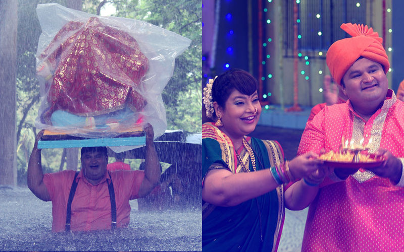 Nirmal Soni Back As Dr Hathi On Taarak Mehta Ka Ooltah Chashmah. Don't Miss These Pictures From The Set
