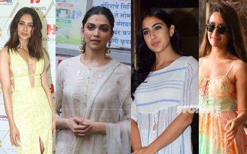 Deepika Padukone, Sara Ali Khan, Shraddha Kapoor And Rakul Preet Singh's Financial Statements To Be Scanned By NCB - REPORTS