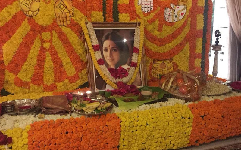 Sridevi's 1ST Death Anniversary: Janhvi Kapoor And Khushi Kapoor Pray For Mom – Inside Pictures