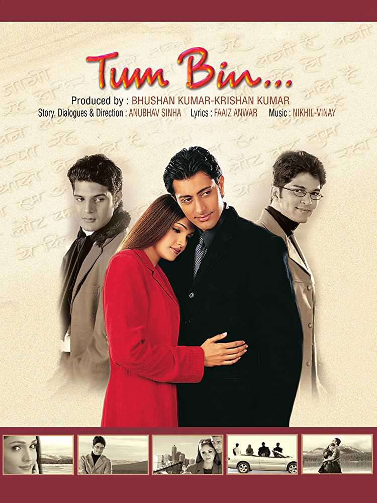 tum bin movie poster featuring priyanshu sandali sinha raqesh vashisth himanshu malik