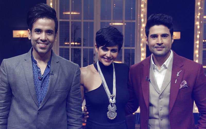 Tusshar Kapoor & Mandira Bedi Talk Cricket Over Juice Shots With Rajeev Khadelwal On Juzz Baatt