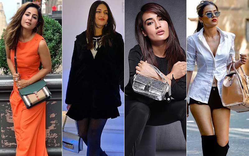 Surbhi Jyoti, Hina Khan, Nia Sharma, Divyanka Tripathi's Sassy Handbags Will Make You Want One In Your Wardrobe