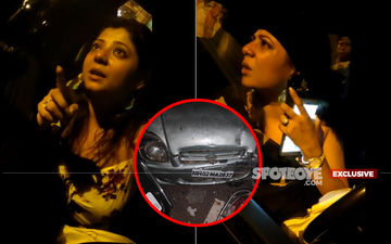 TV Starlet Ruhi Singh Barges Into KFC Bandra And Assaults Police Officer; Minutes Later She Bangs Into Parked Cars At Santacruz