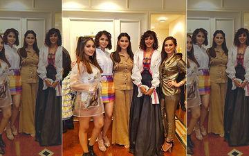 TV Bahus' Catwalk: Aalisha Panwar, Rochelle Rao, Lavina Tandon, Mansi Srivastava, Aparna Dixit And Mauli Ganguly Strut The Runway