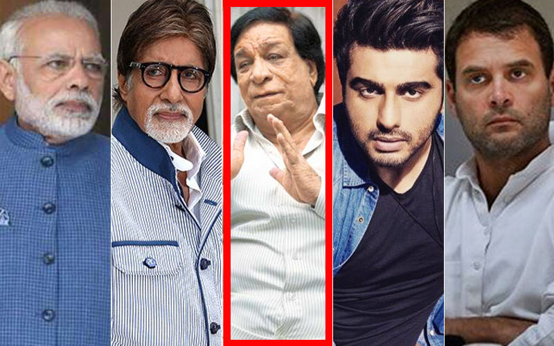 Kader Khan Death: Mourned By Narendra Modi, Rahul Gandhi, Amitabh Bachchan, Arjun Kapoor, Anupam Kher And Millions Of Fans