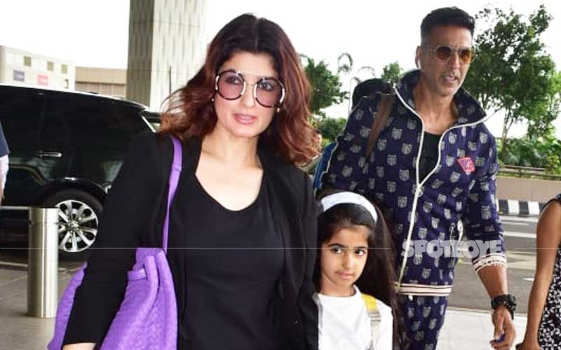 Akshay Kumar-Twinkle Khanna Finally Manage To Leave For Their London Vacay, Post An Unexpected Flight Delay