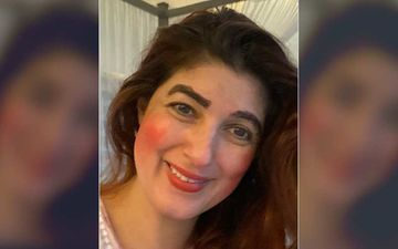 Twinkle Khanna's Gets A Fine Makeover From Her Daughter; Her Brows Are In Sync With The Current Lockdown Brow Trend