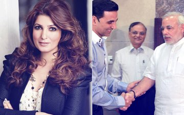 Twinkle Khanna's Stern Reply To A Tweet Mocking Akshay Kumar's Meet With PM Narendra Modi