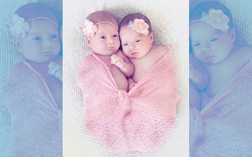 Lisa Ray's Adorable Twin Girls Sufi & Soleil's Picture Is All Sorts Of Cute