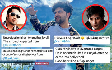 "Twitterati Call Out Guru Randhawa ""Rude, Unprofessional, Overrated""; Paying Heavy Price For Ditching Naagin 3 Star Karanvir Bohra's Debut Film"