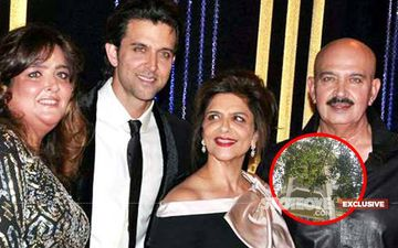 Two Bikers Rob Hrithik Roshan's Watchman And Flee From His Building At 3 AM!