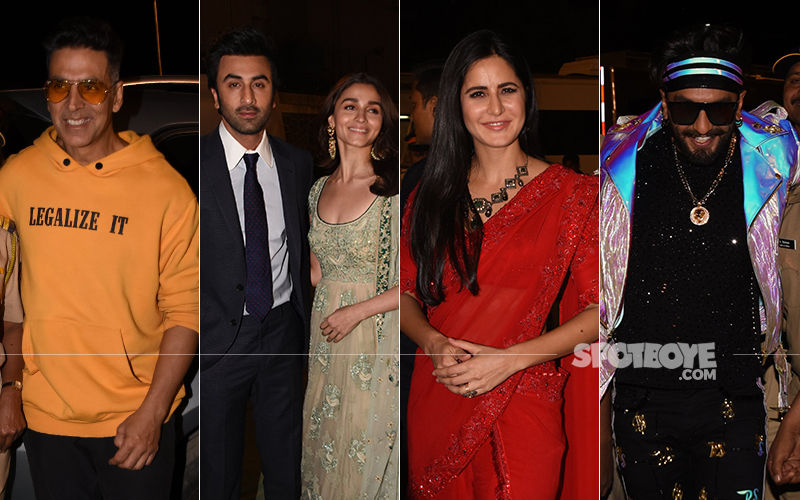 Umang 2019: Akshay Kumar, Ranbir-Alia, Katrina, Ranveer Make It A Starry Affair