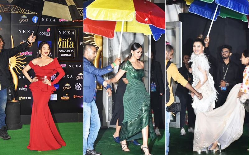 IIFA Awards 2019: Stars Brave Heavy Rains And Heavier Gowns At The Glamourous Green Carpet