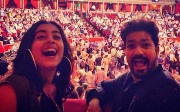 Upcoming Film 'Jhimma' Stars Sakhee Gokhale And Suvrat Joshi Attending A Musical Concert In London