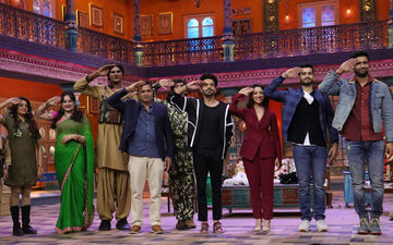 Uri Actors Vicky-Sunny Kaushal, Yami Gautam Have A Blast On Sets Of Kanpur Wale Khuranas