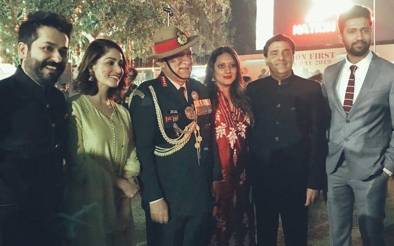 फिल्म उरी की टीम ने आर्मी डे के मौके पर अजीत डोभाल और बिपिन रावत से की मुलाकात