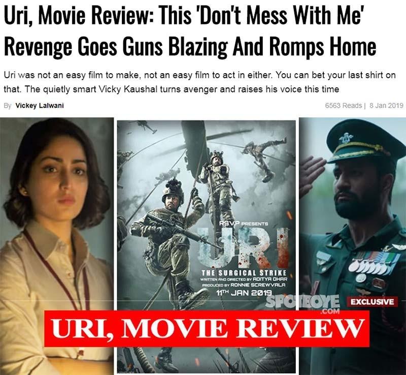 uri movie review