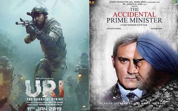 'उरी' और 'द एक्सीडेंटल प्राइम मिनिस्टर' के पहले दिन की Box office रिपोर्ट आई सामने: विक्की कौशल ने किया धमाल तो अनुपम खेर  को मिली धीमी शुरुआत