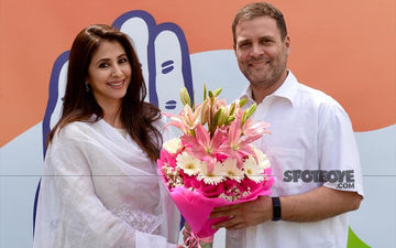 Urmila Matondkar Joins Congress Ahead Of Lok Sabha 2019 Elections; Asks Voters Not to Consider Her Glamour