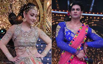 Nach Baliye 9: Urvashi Dholakia Sizzles On Stage; Vishal Aditya Singh Turns Into A Eunuch