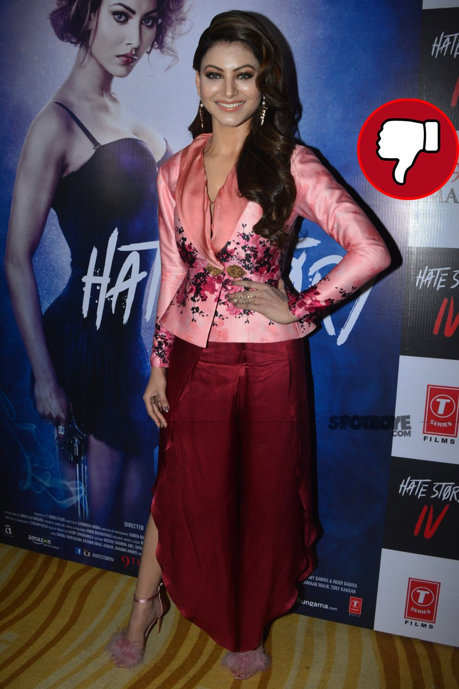 urvashi rautela at the song launch
