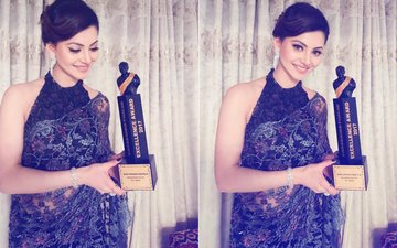 Urvashi Rautela Gets Trolled On Winning Dada Saheb Phalke Excellence Award