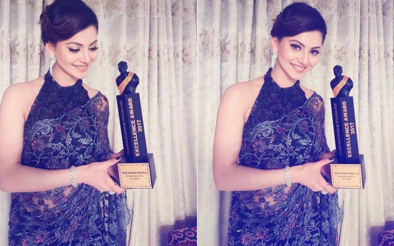 Urvashi Rautela Gets Trolled On Winning Dada Saheb Phalke Excellence Award