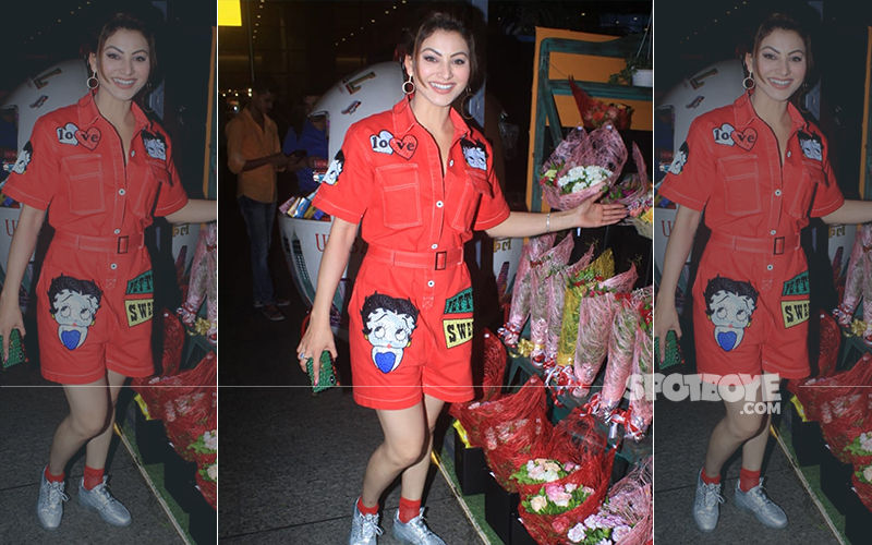 Urvashi Rautela Is Ruining The Saturday Style Vibes With Her 'Cartoony' Look!