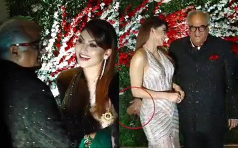 Urvashi Rautela-Boney Kapoor Viral Video: Trolls Attack Filmmaker For Inappropriately Touching Kaabil Actress