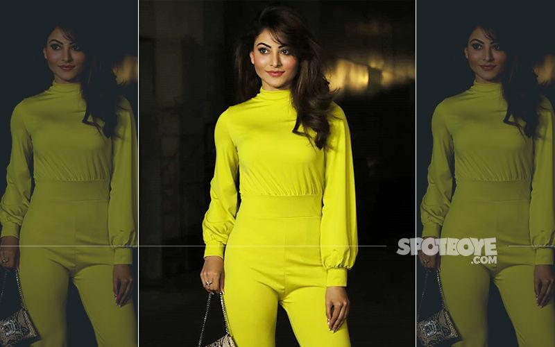 FASHION CULPRIT OF THE DAY: Urvashi Rautela's Neon Jumper Is DEATH Of Fashion!
