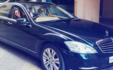 Urvashi Rautela's New Ride Is A ₹ 2.0 Crore Mercedes S-Class!