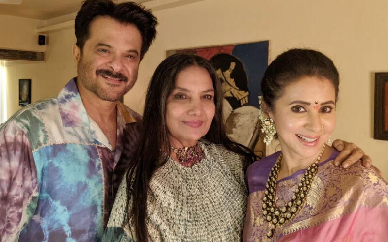 Shabana Azmi Shares A Sneak Peek Of A Get-Together With Her 'Dear Ones' Anil Kapoor, And Urmila Matondkar; See INSIDE PICS