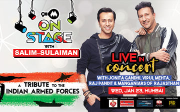 The Big Nite Is Here! Get Set For 9XM On Stage With Salim-Sulaiman